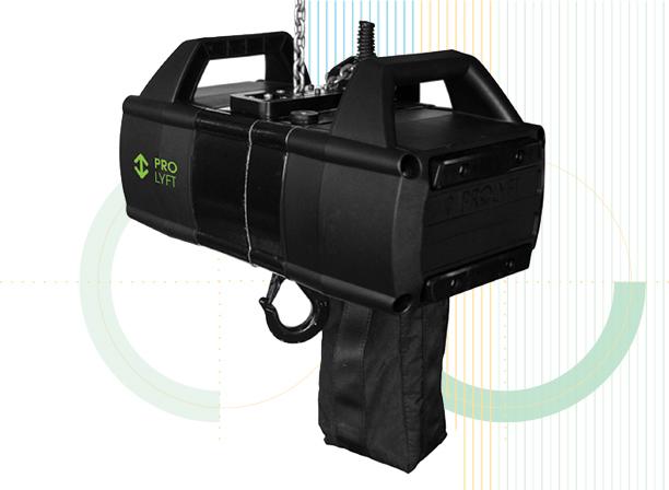 de nieuwe takels Prolyft AETOS D8+ 250 kg en 500 kg